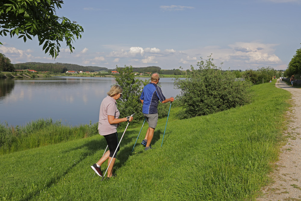Nordic Walking am Drachensee